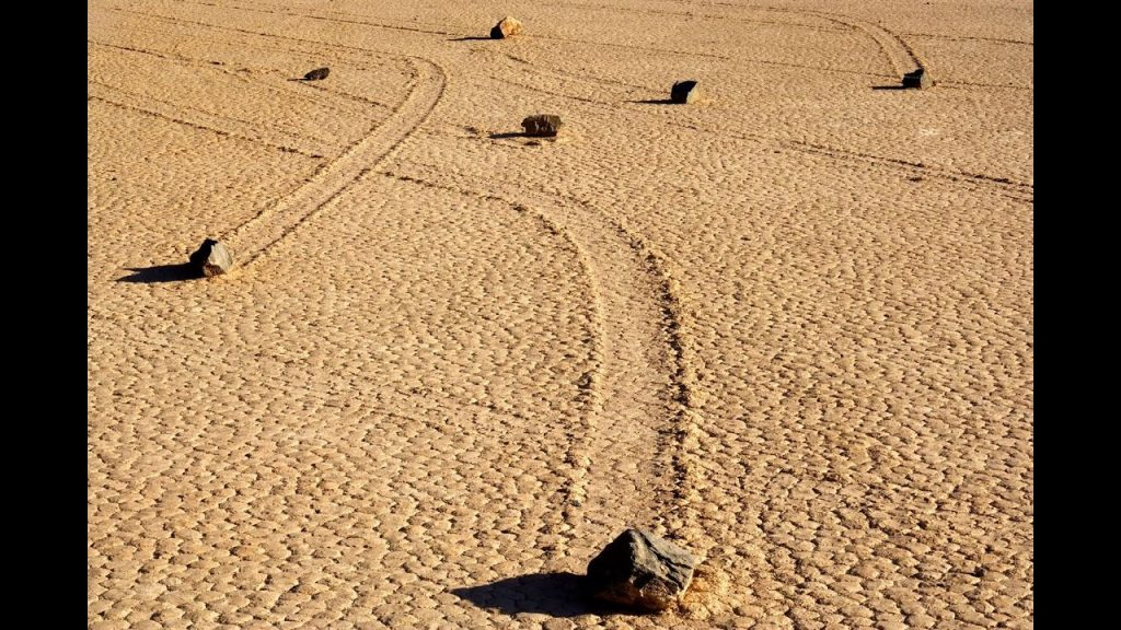 Death Valley's 'Sailing Stones'